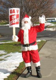 Strike Santa