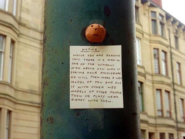 a wee notice